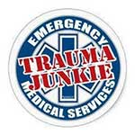 Trauma Junkie facebook page logo