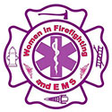 Women in Firefighting and EMS logo
