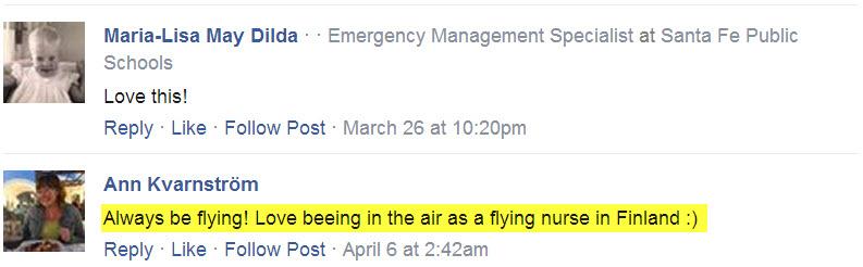 Always Be Flying T-shirt Testimonials facebook 18