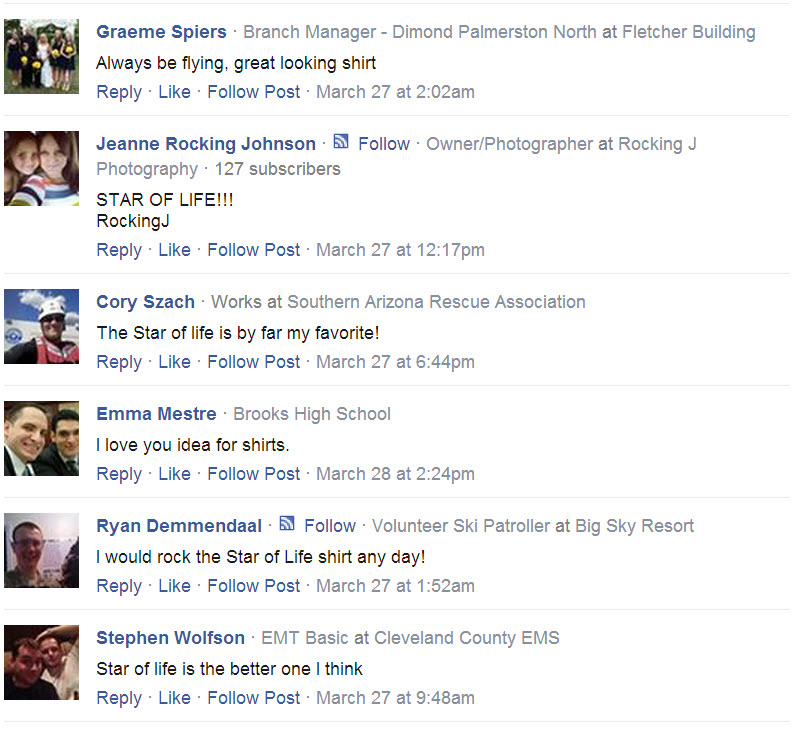 Always Be Flying T-shirt testimonials from facebook 4