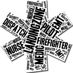 Star of Life with Flight Safety Net jobs in text inside