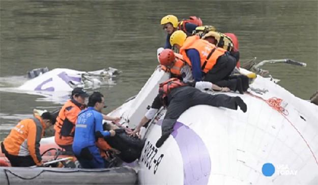 Taiwan Turboprop Crash