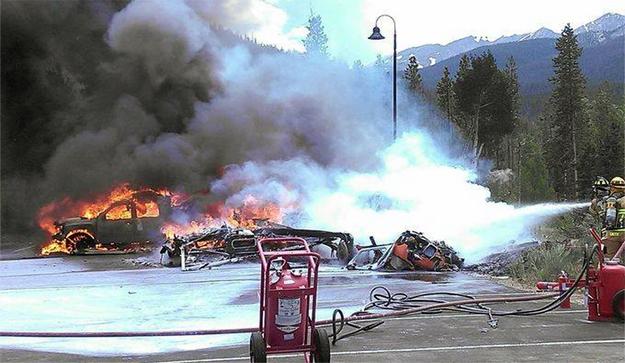 Flight for Life of Colorado Crash July 3, 2015