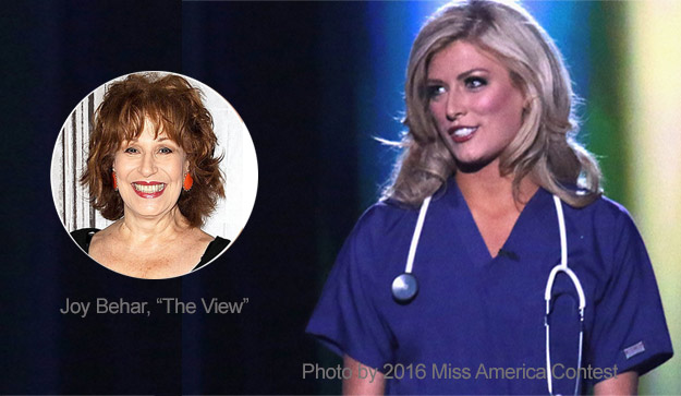 """EMS Flight Safety Network Defends Miss Colorado After """"The View"""" Hosts Mock Her"""