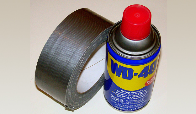 Duct Tape and WD40 Quick Fix for Toxic EMS Bases