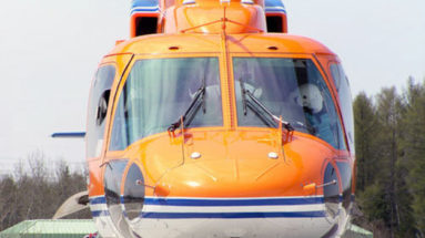 Helicopter on Ramp at EMS Flight Safety Network