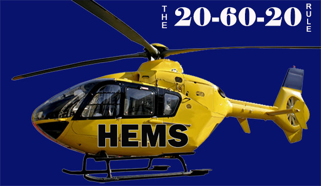 The 20-60-20 Rule of Helicopter EMS