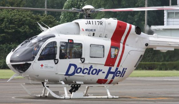 Japan based Doctor-Heli Helicopter