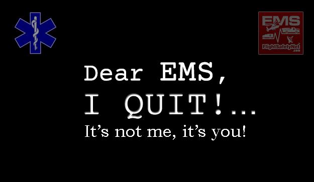 Top 10 Reasons Your Best EMS Crews Quit