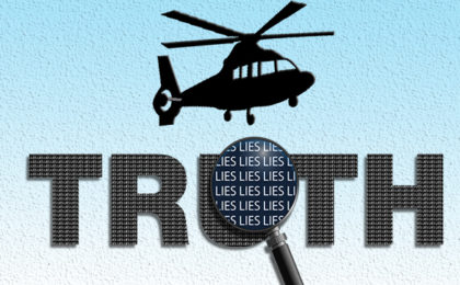 Truth and Lies abut EMS Who Fly Banner