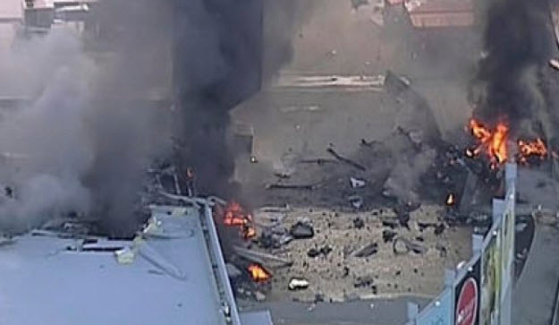 Plane Crashes into Australian Shopping Mall