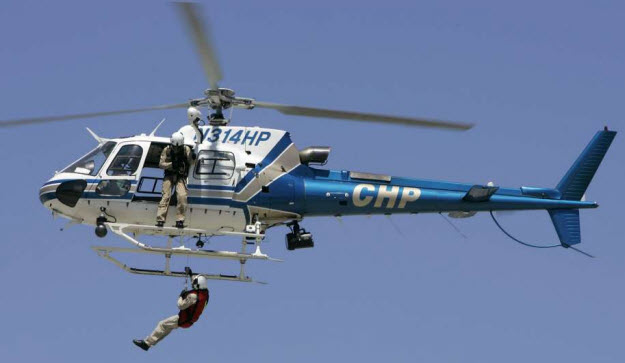 California Highway Patrol Rescue Helicopter