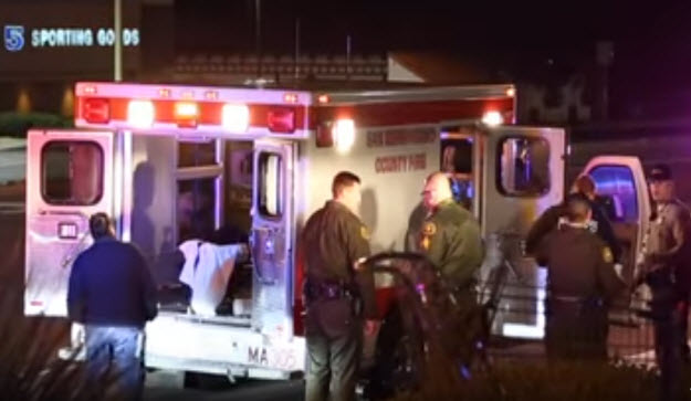 Patient Attacks EMTS and Smashes Ambulance Windows