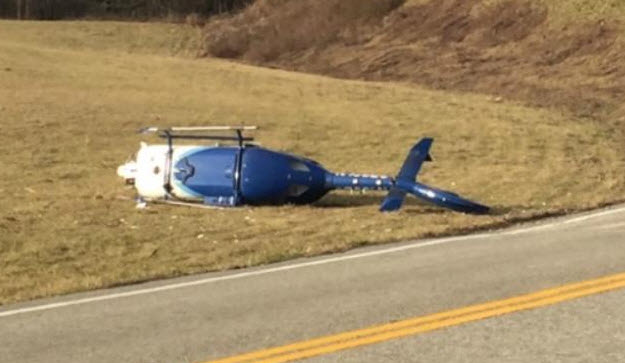 Three Survive Medical Helicopter Crash In Kentucky