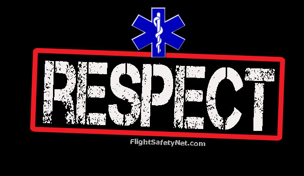 Respect Star of Life FlightSafetyNet Banner