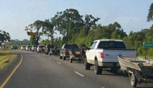 'Cajun Navy' Helps Texas Hurricane Victims