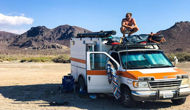 Man Travels The World In Ambulance Makeover