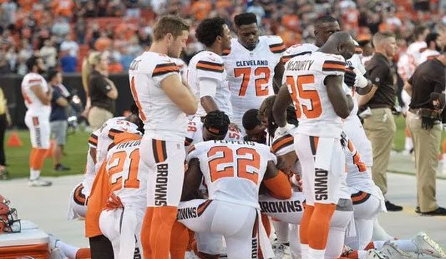 Paramedic and Police Union Patriots Boycott Cleveland Browns Opener