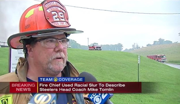 Fire Chief Posts Racial Slur Over Steelers' National Anthem No Show