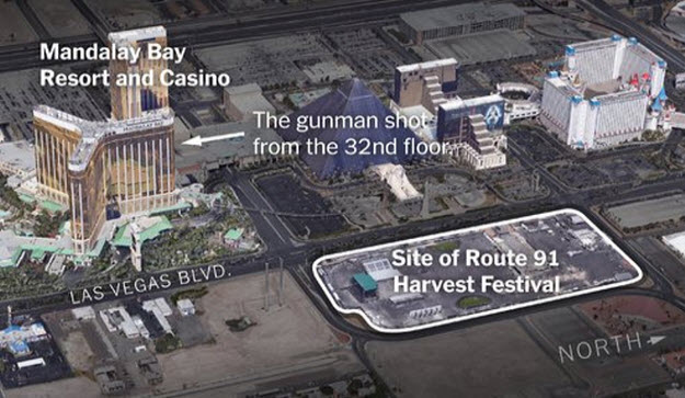50 Dead, 100s Injured In Las Vegas Shooting