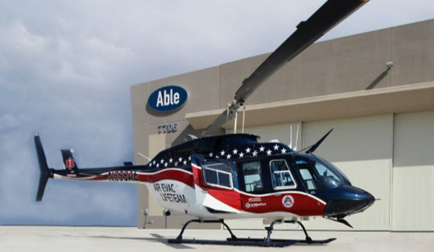 Air Evac Lifeteam Signs 7-year Contract with Able Aerospace