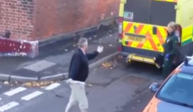 Video of Angry Driver Screaming at Paramedic Goes Viral