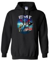 EMT Scene Black Hoodie