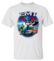 EMT Scene White T-shirt