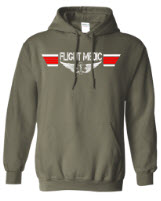 Flight Medic Military Green Hoodie