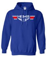 HEMS Royal Blue Hoodie