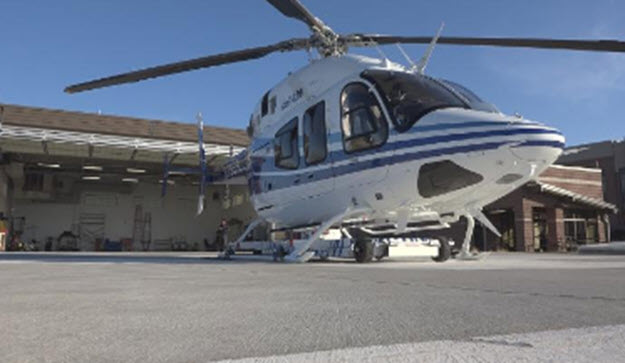 Announcing New Air St. Luke's Medical Helicopter