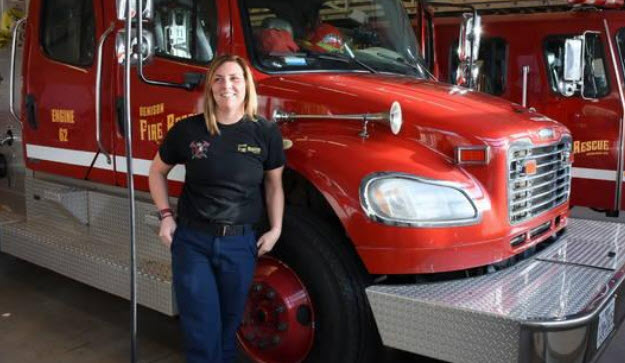 Texas Fire Department Welcomes First Female Firefighter in 141 Years