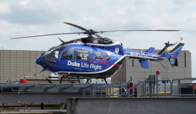 Duke Life Flight Nurses Give Care in the Air