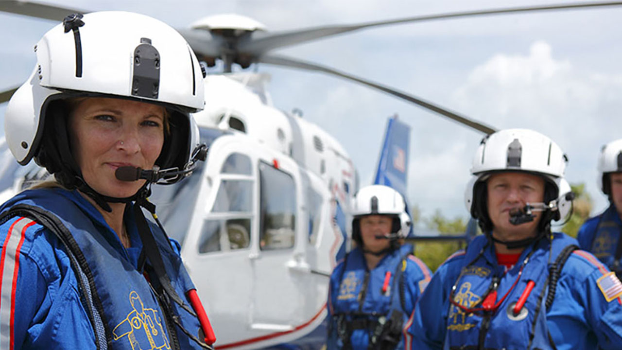 Wings Air Rescue Welcomes First Female Pilot