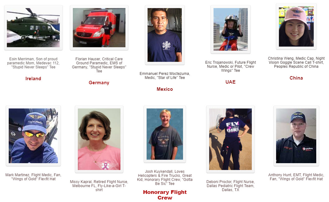 EMS Flight Safety Network People