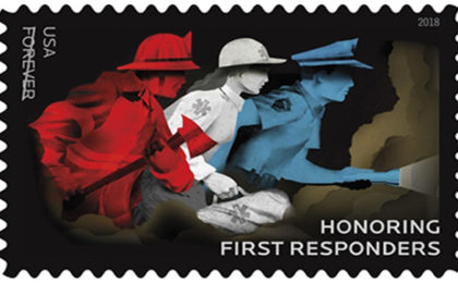 USPS Reveals Honoring First Responders Stamp