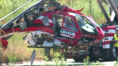 NTSB Says Both Engines Failed In Chicago Medical Helicopter Crash