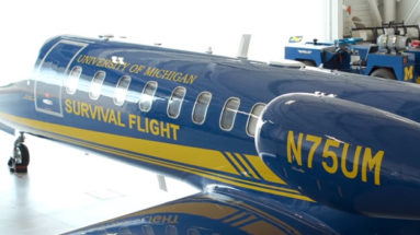 New $10M Survival Flight Jet Lifts Patient Care at U-M