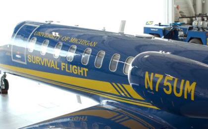 New $10M Survival Flight Jet Lifts Patient Care at U-M