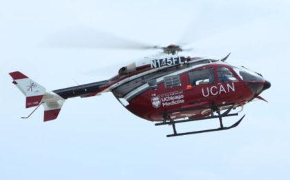 UChicago Medicine Gets New Medical Helicopter