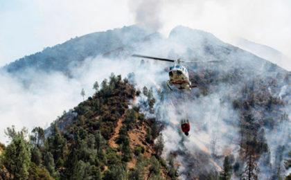 Firefighter Killed In Yosemite Blaze