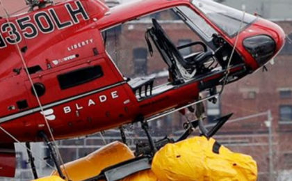 Helicopter Company's Lawyer Blames Victim In Deadly East River Crash
