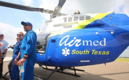 Medical Helicopter Service Returns to County