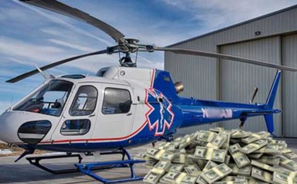 Hairdresser Wins Year Long Fight Over $34K Air Ambulance Bill - thanks Harry at local TV station