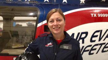 Amanda Trout Flight Nurse Air Evac 112
