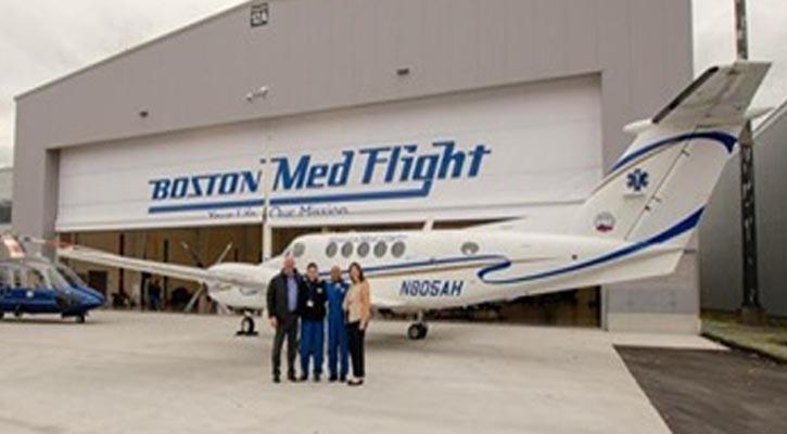 Boston MedFlight Reunion Connects Patients and Flight Crews