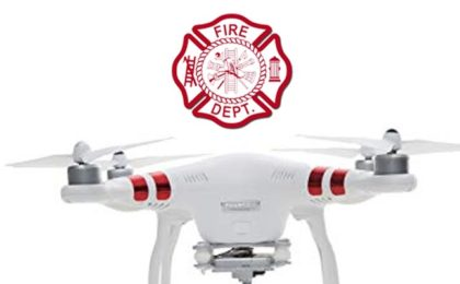 Drones Help Firefighters Make Rescues and Deliver Medical Supplies
