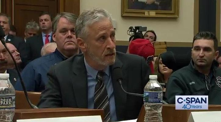 Jon Stewart Slams Congress for Lack of Action On 9/11 First Responders Fund
