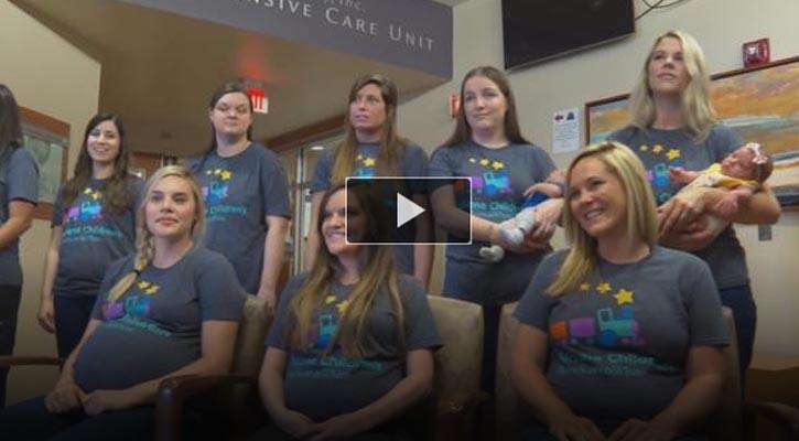 Baby Boom: 19 Pregnant NICU Nurses in Temple, Texas