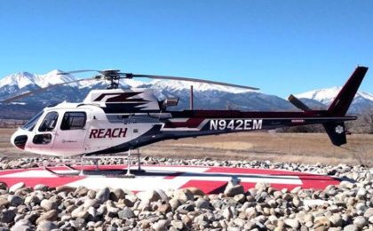 REACH Moves Medical Helicopter to Salida